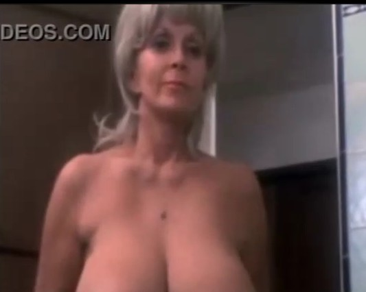 image Sexy grandma shower having fun with young cock